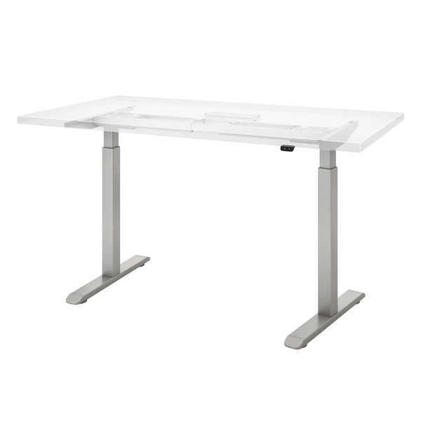 Enmo WhiteSweep Ghosted Electric height adjustable table base Top not included Providing high quality height adjustability at an affordable price point. Ships to all lower 48 states