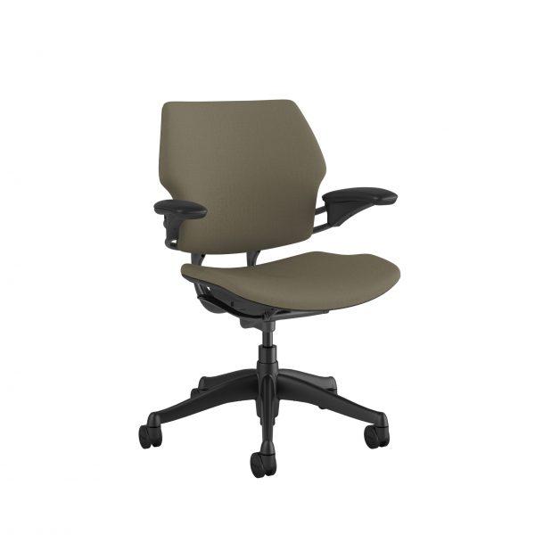 "freedomtaskchair driftwood scaled <ul> <li>Standard Duron Arms</li> <li>Corde Textile Pattern</li> <li>Graphite Frame and Base</li> <li>Standard Cylinder 5""</li> <li>Standard Foam Seat Pan</li> </ul>"