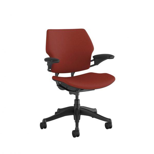 "freedomtaskchair parmared scaled <ul> <li>Standard Duron Arms</li> <li>Corde Textile Pattern</li> <li>Graphite Frame and Base</li> <li>Standard Cylinder 5""</li> <li>Standard Foam Seat Pan</li> </ul>"