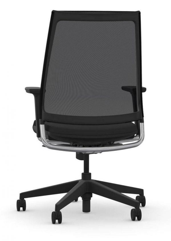 9to5 seating luna origin black alan desk 3 Specifications: <ul> <li>4-Way Height Adjustable Arms</li> <li>Full Synchro Mechanism</li> <li>Ships to Lower 48 States</li> </ul>
