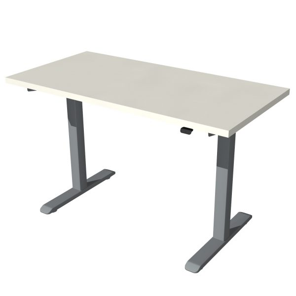 Enmo Standing Desk Silver (3)