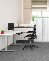 esi height adjustable desk