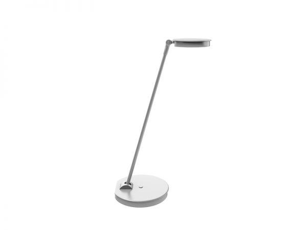 "LilyLampL Silver <ul> <li>Ships in 48 Hours</li> <li>Enmo - Silver Base and 48"" x 24"" Designer White Top</li> <li>Kata - White monitor Arm - Monitor weight capacity 4lb - 20lb</li> <li>Lily LEDX - Single arm LED task light with USB-A port</li> <li>FlexCharge3 - White - Personal desktop power - 1 AC Outlet and two USB Quick-charging ports</li> </ul>"