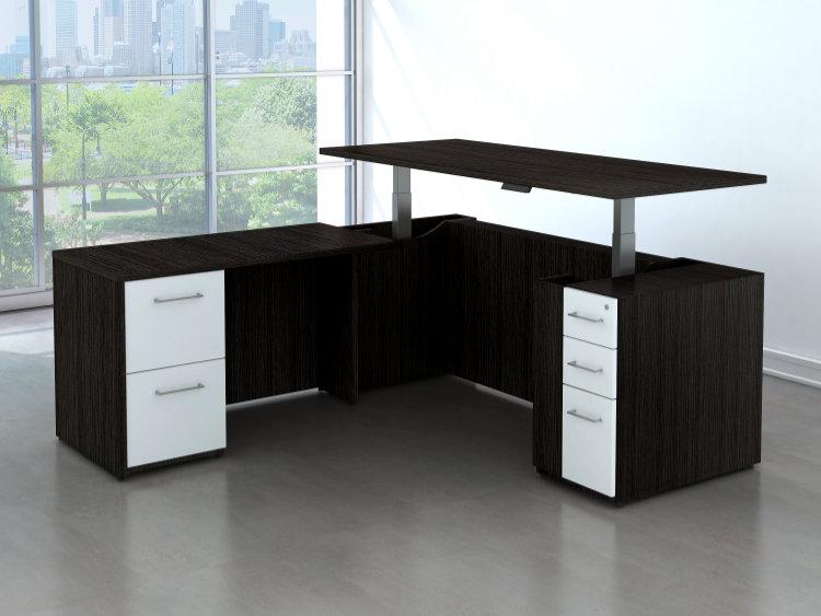 maverick desk standing desk canyon series