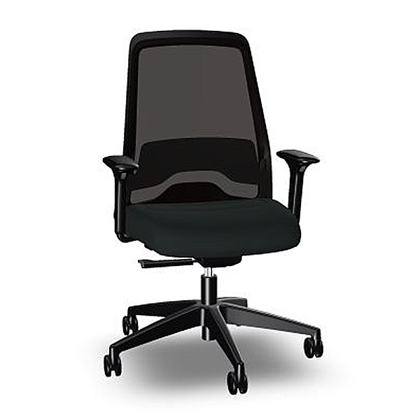 Interstuhl Everyis1 Task Chair all black